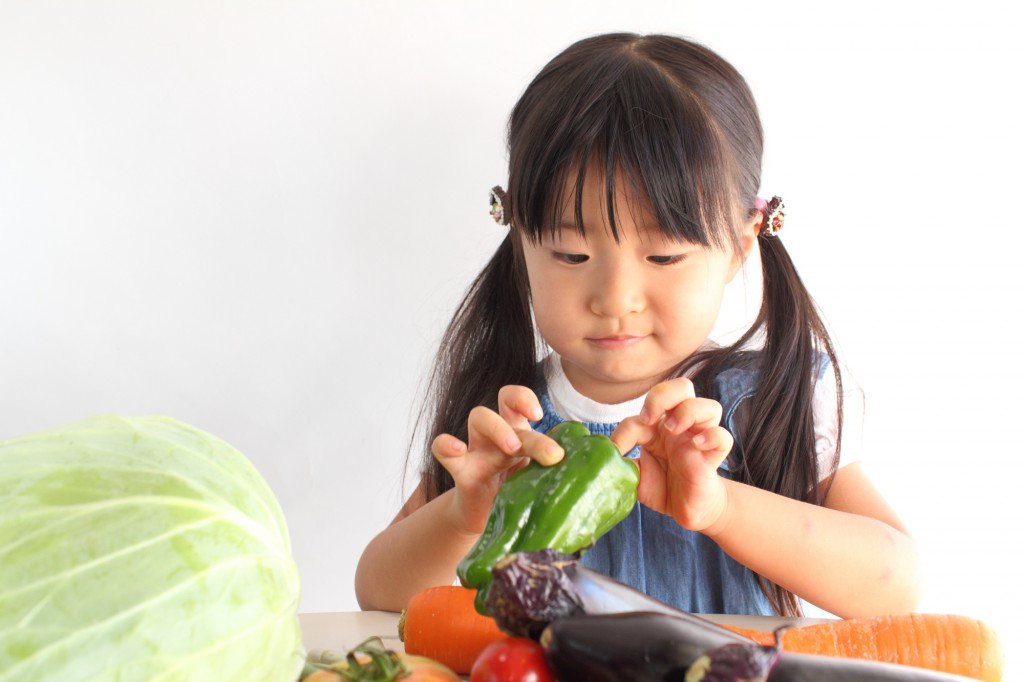 子どもと野菜